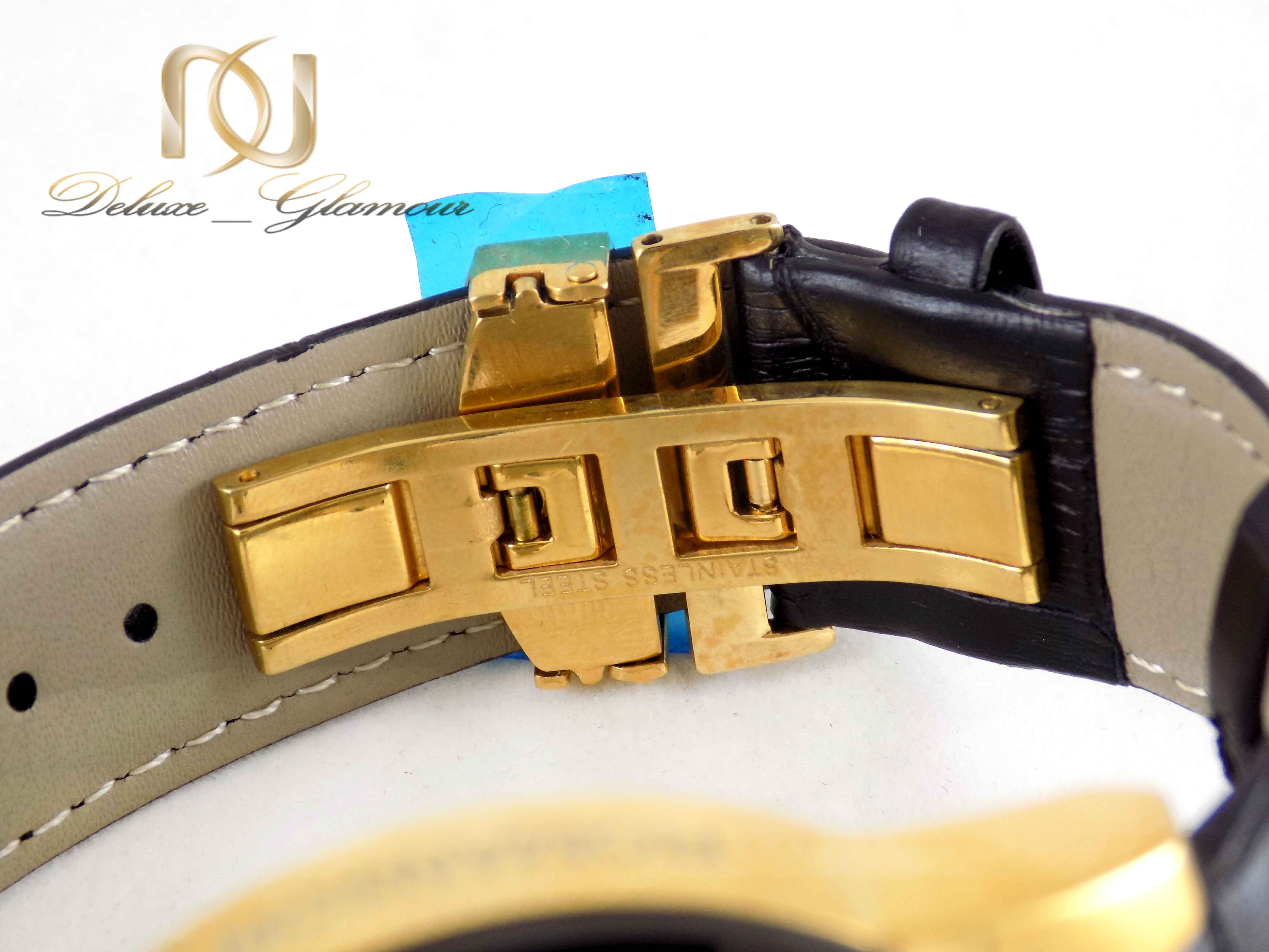 ساعت مردانه سه موتوره مشکی رومانسون wh-n118 از نمای پشت