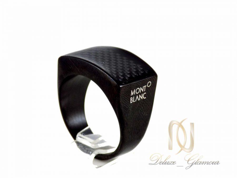 ست انگشتر و دستبند مردانه مشکی ns-n245 از نمای نزدیک