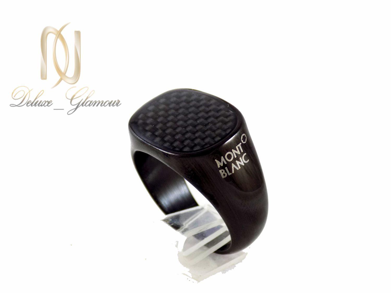 ست دستبند و انگشتر مردانه مشکی ns-n244