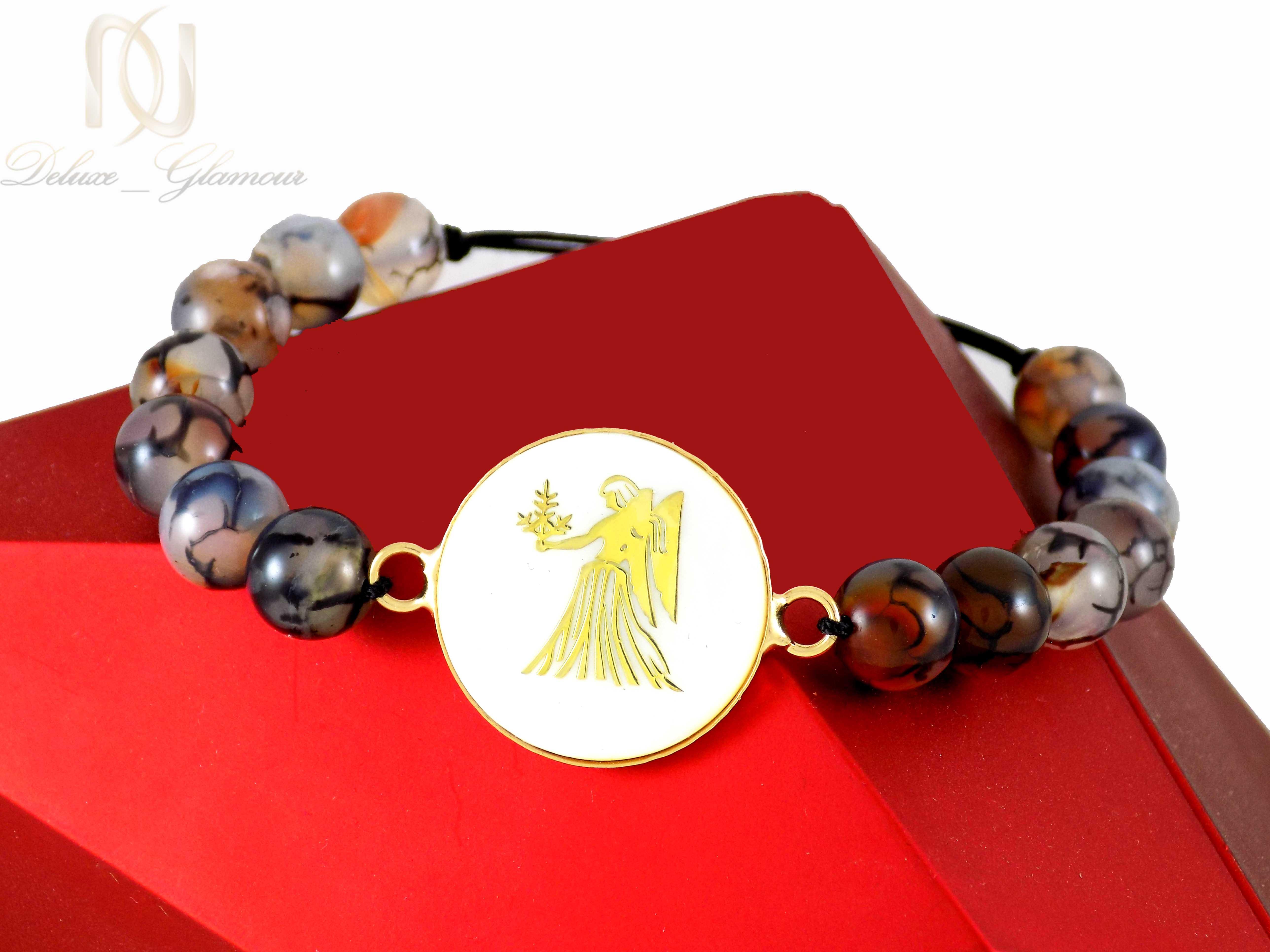 دستبند دخترانه سنگ ماه تولد شهریور ds-n337 از نمای نزدیک