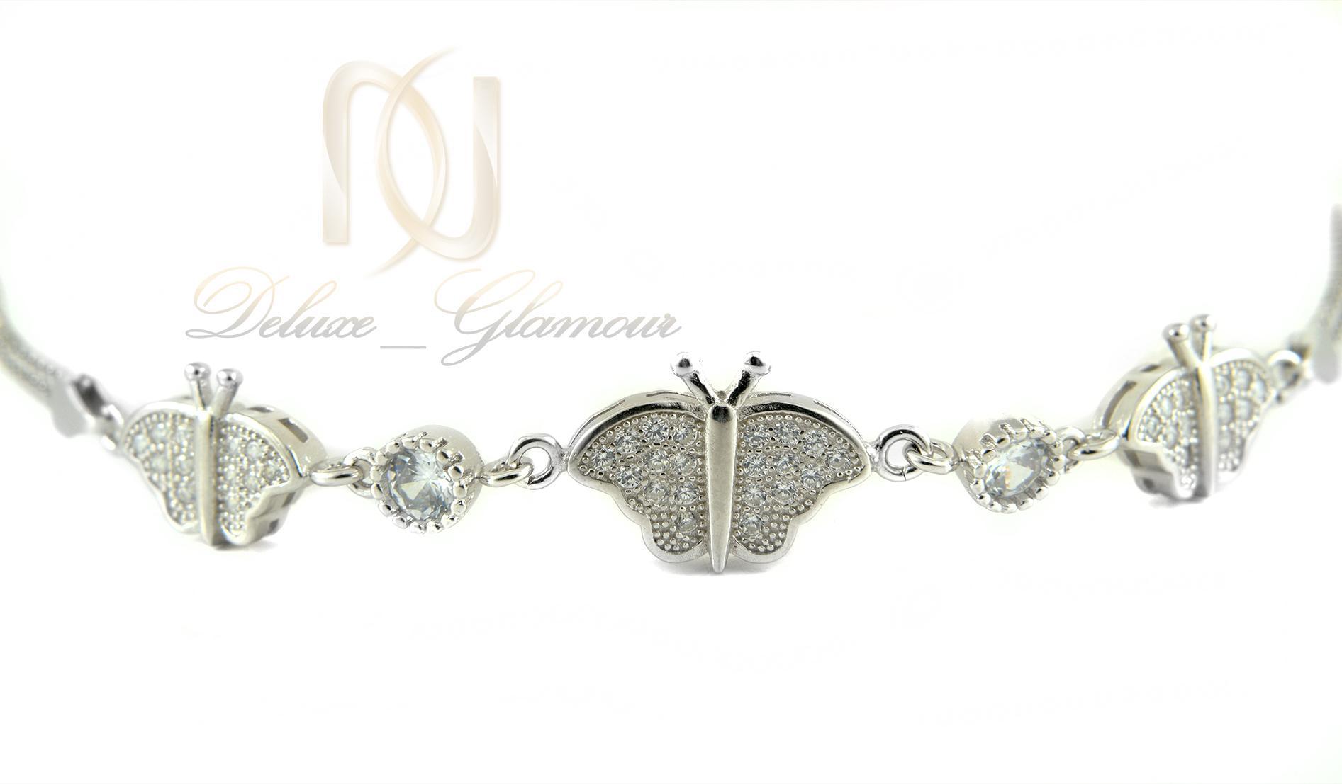 دستبند دخترانه نقره تایلندی ds-n335 (2)