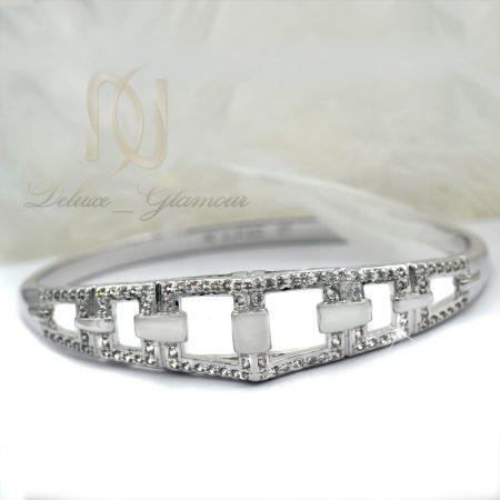 دستبند زنانه ژوپینگ روکش رادیوم ds-n355 از نمای روبرو