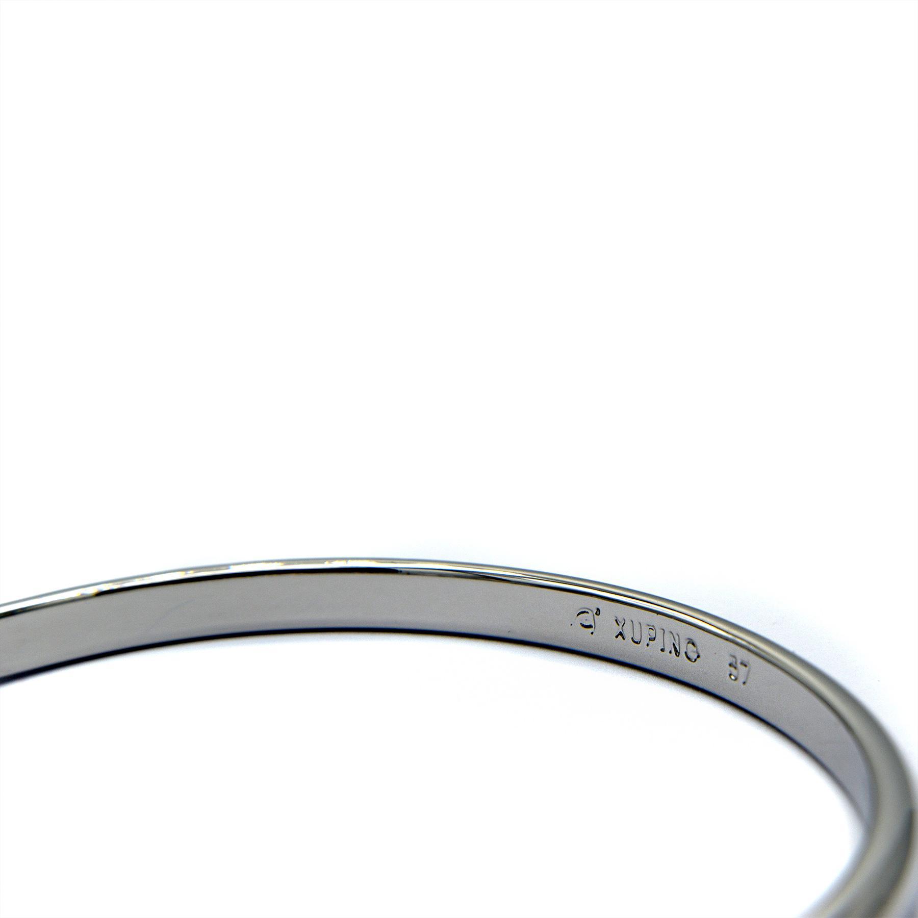 دستبند زنانه ژوپینگ روکش رادیوم ds-n355 از نمای داخل