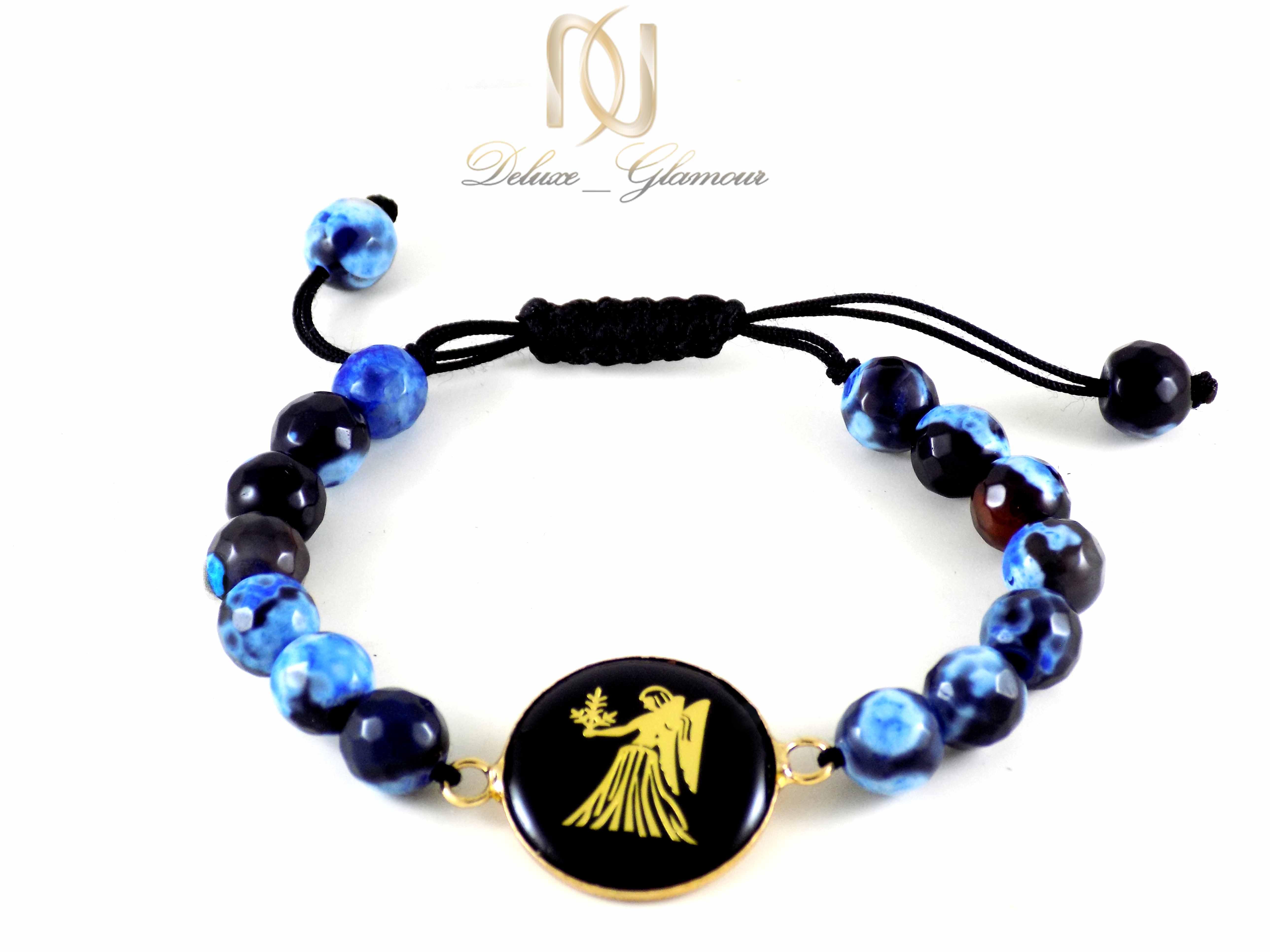 دستبند سنگ و نماد ماه تولد شهریور ds-n340 از نمای دور