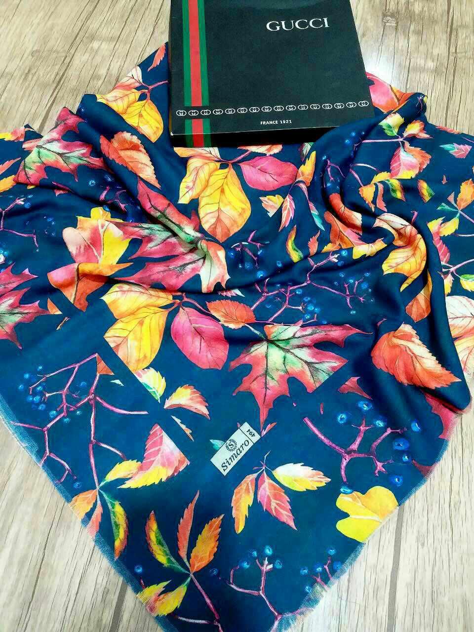 روسری قواره بزرگ نخی sr-n210