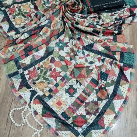 روسری نخی قواره بزرگ sr-n215