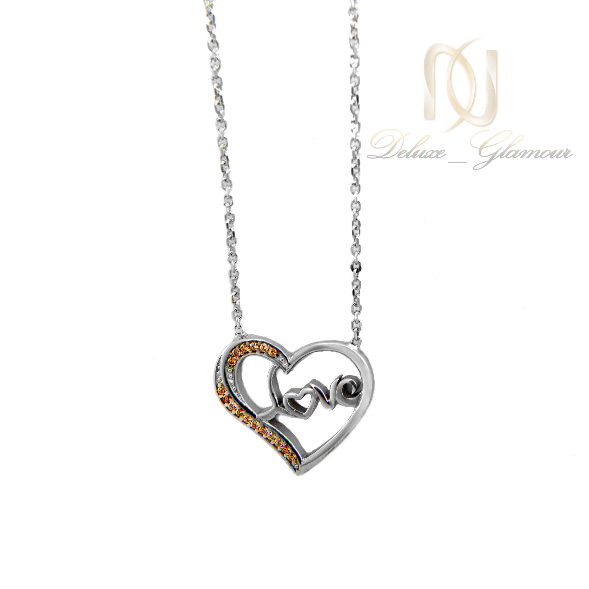 گردنبند-دخترانه-نقره-طرح-قلب-nw-n413-2