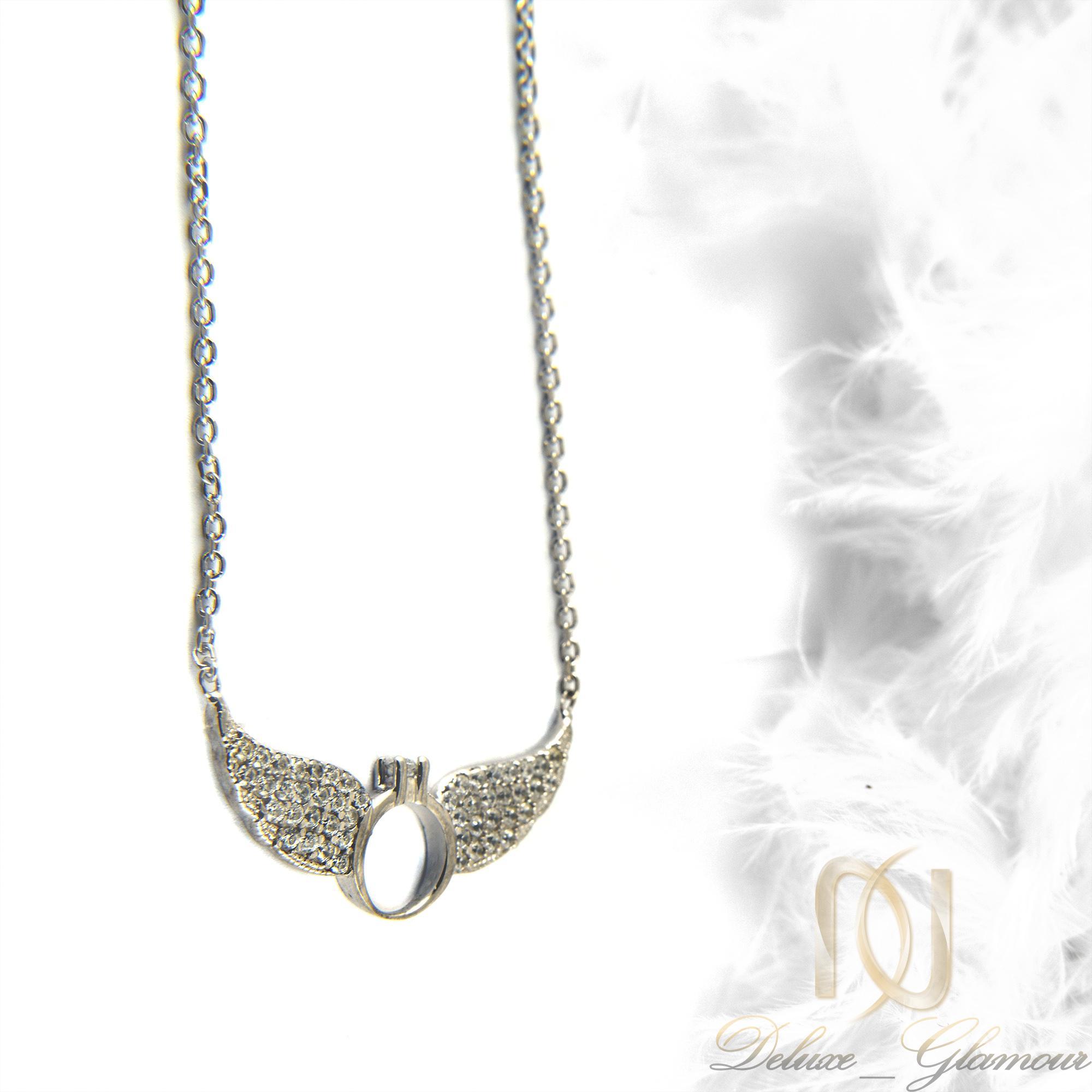 گردنبند نقره دخترانه طرح بال فرشته nw-n415