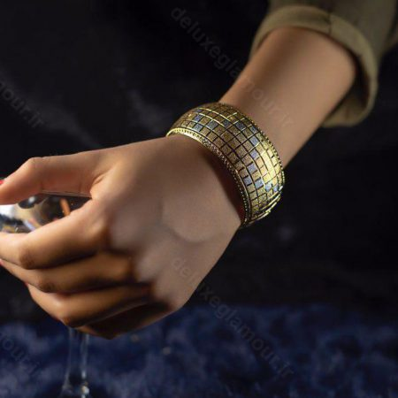تک پوش زنانه طرح طلاsr-n108 از نمای نزدیک