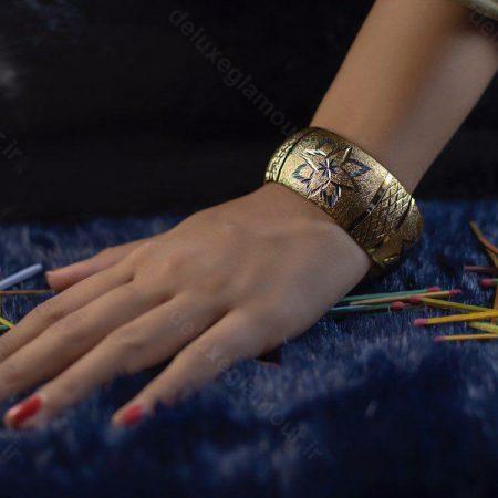 تک پوش زنانه طرح طلاsr-n109 از نمای نزدیک