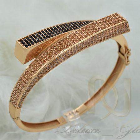 دستبند نقره زنانه خاص رزگلد DS N360 5 450x450 - خانه