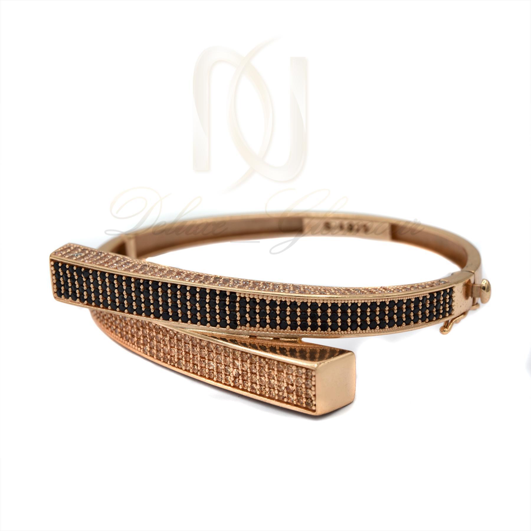 دستبند نقره زنانه خاص رزگلد DS-N360