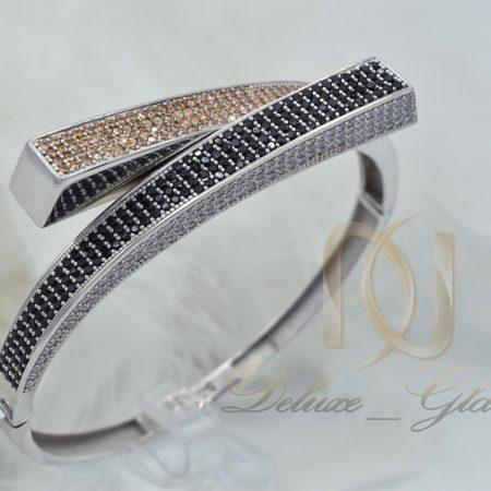 دستبند نقره زنانه طرح جدید DS-N374 از نمای روبرو