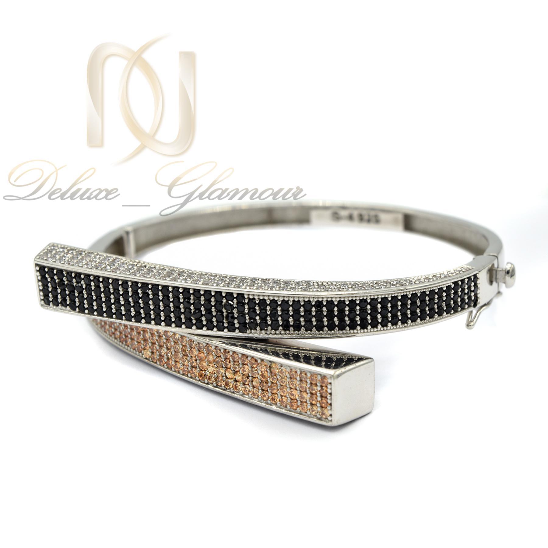 دستبند نقره زنانه طرح جدید DS-N374