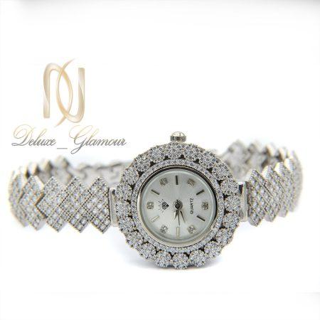 ساعت زنانه نقره اصل 925 جواهری wh-n126