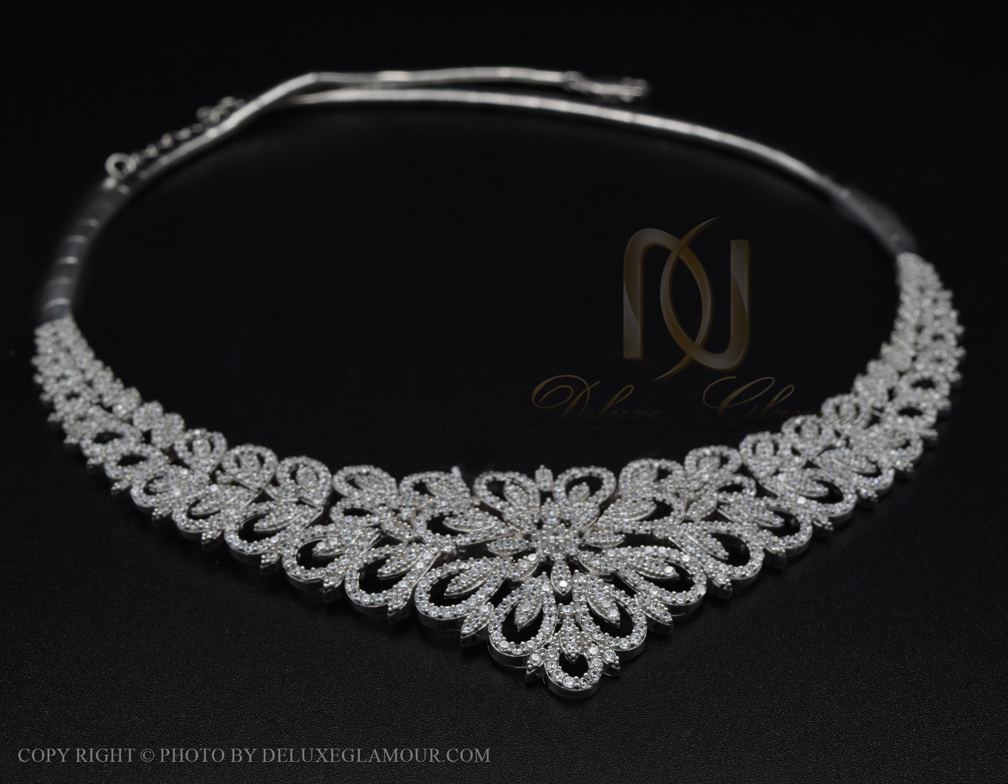 سرویس نقره طرح جواهر جدید ns-n419 از نمای نزدیک