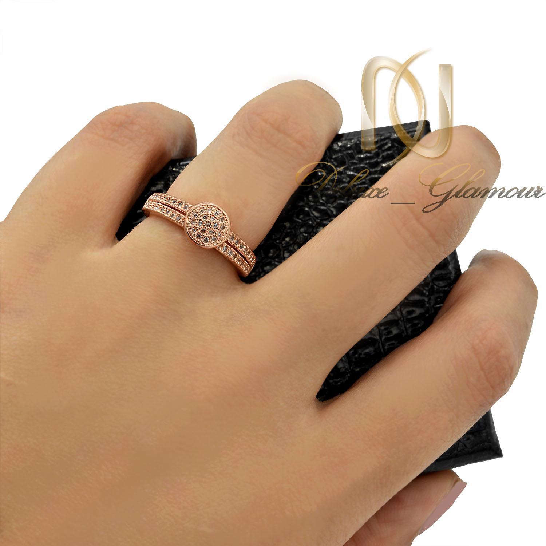 انگشتر ظریف دخترانه ژوپینگ رزگلد پرنگین rg-n013