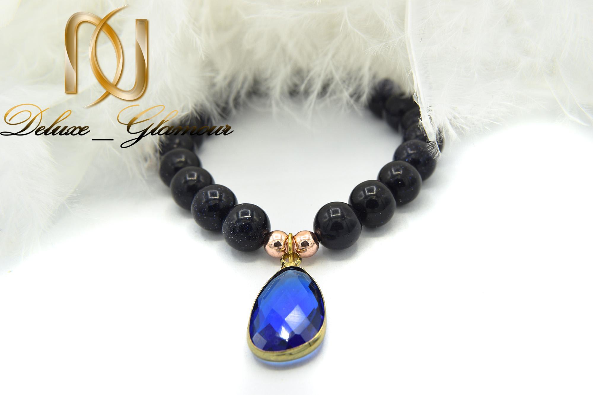 دستبند دخترانه اسپرت سنگ دلربا za-n125