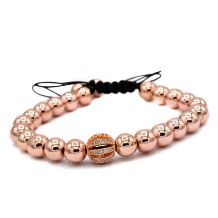 دستبند دخترانه اسپرت سنگ حدید za-n113