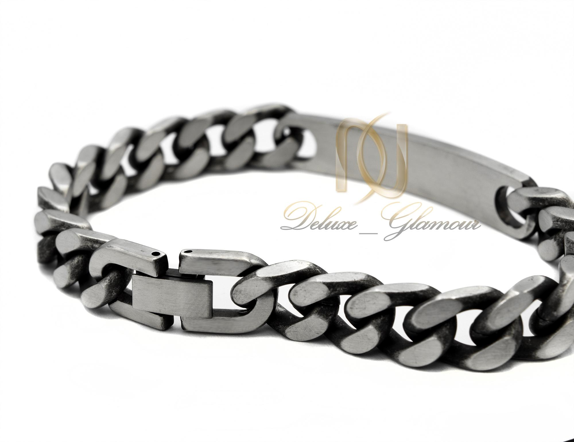 دستبند مردانه اسپرت طرح کارتیه ds-n386