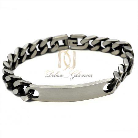 دستبند مردانه اسپرت طرح کارتیه ds-n386 از نمای روبرو