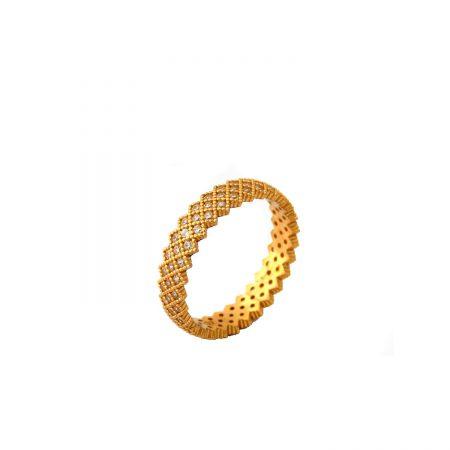 انگشتر نقره زنانه ظریف طرح پرنسس rg-n316