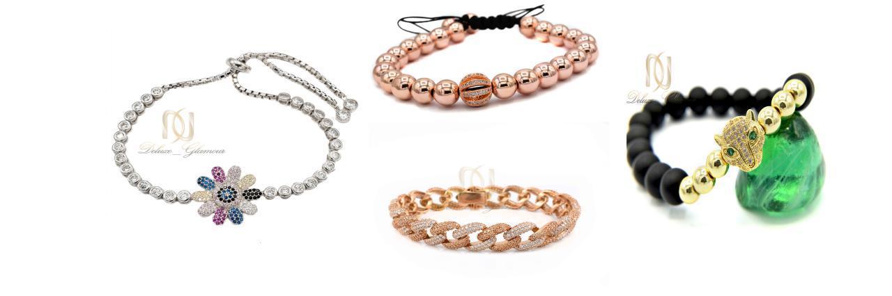 مدل دستبند های زنانه و دخترانه 2019