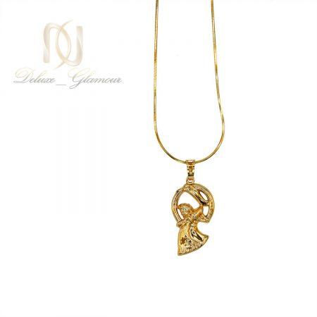 گردنبند ماه تولد بهمن ماه ژوپینگ طلایی NW-N481