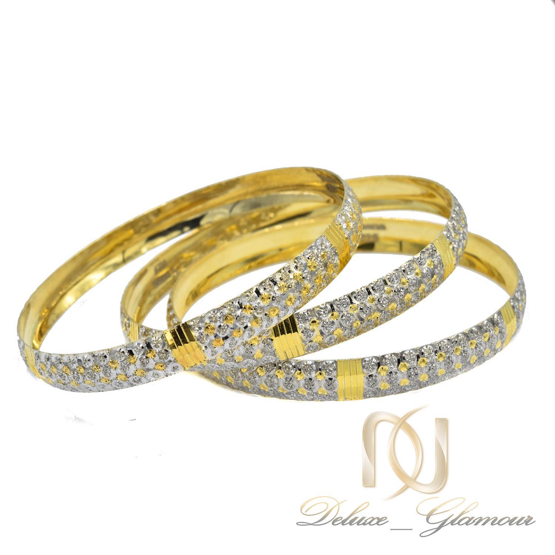 النگو نقره زنانه تراش طرح طلا al-n118 از نمای سفید