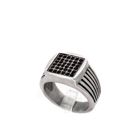 انگشتر-مردانه-اسپرت-استیل-مربعی-rg-n344-2