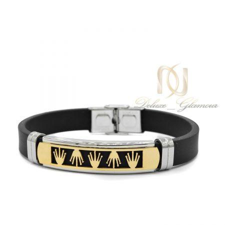 دستبند مردانه اسپرت طرح رولکس ds-n454 از نمای سفید