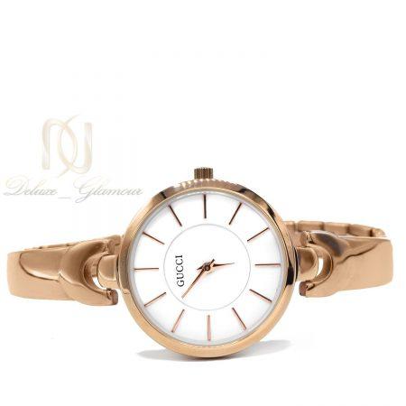 ساعت مچی زنانه رزگلد هایکپی گوچی wh-n145 از نمای سفید
