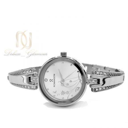 ساعت مچی زنانه رومانسون استیل wh-n144 از نمیا سفید