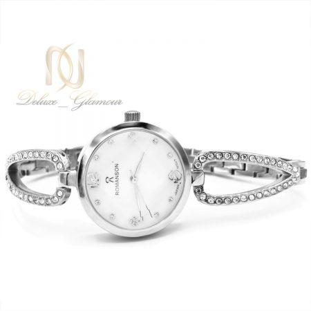 ساعت مچی زنانه رومانسون های کپی wh-n143 از نمای سفید