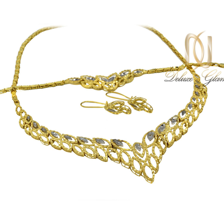 سرویس نقره عروس تراش طرح طلا NS-N460