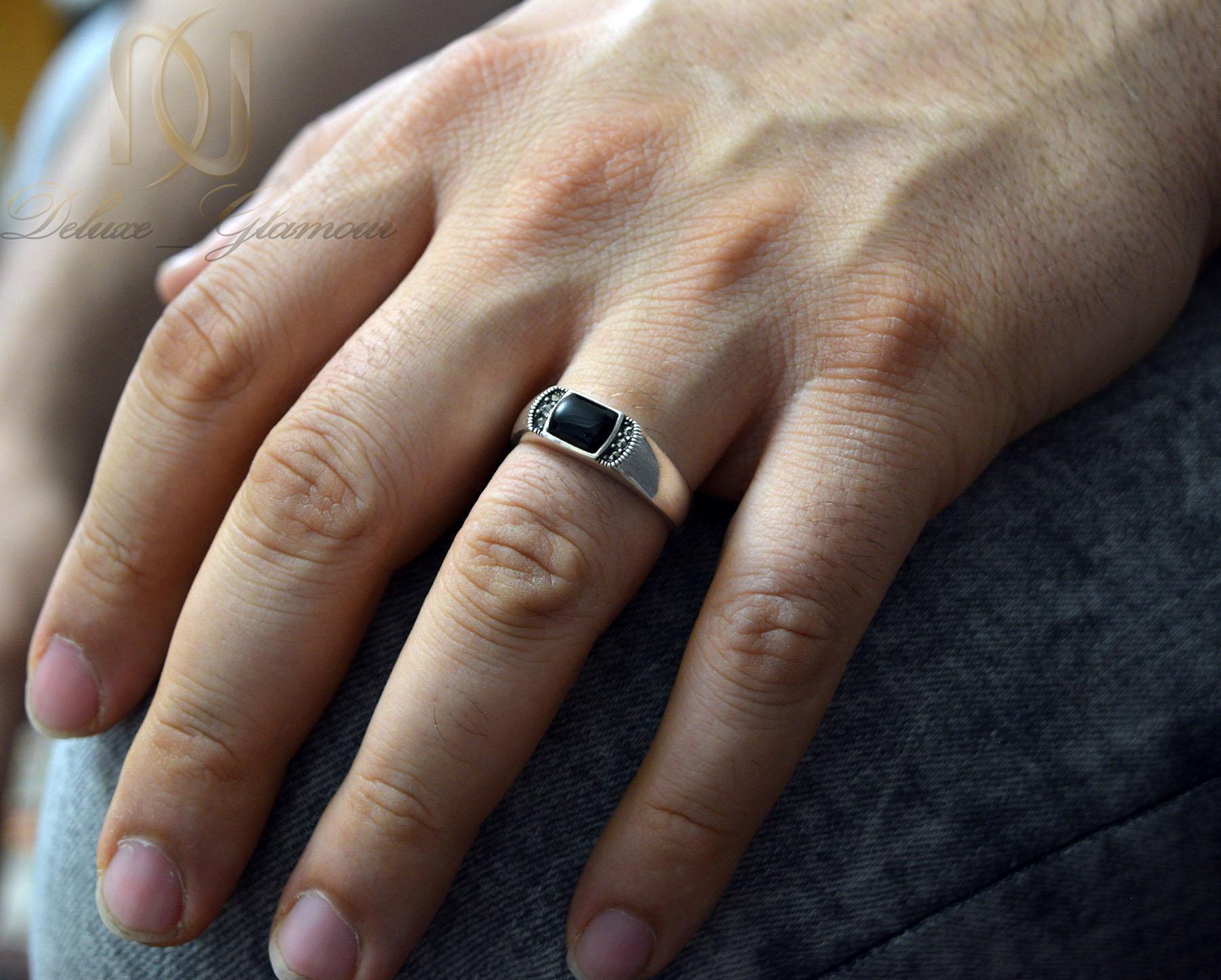 انگشتر مردانه نقره ترکیه اسپرت عقیق RG-N353