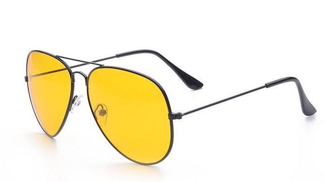 عینک آفتابی با لنز زرد