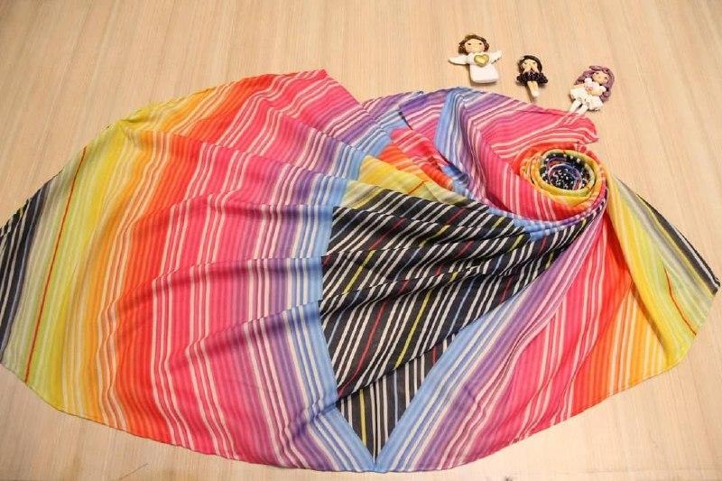مدل جدید روسری نخی قواره بزرگ بهاری sr-n312 از نمای نزدیک
