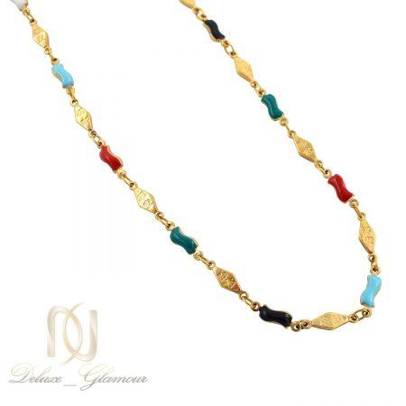 گردنبند دخترانه ژوپینگ فانتزی نگین لاکی nw-n519