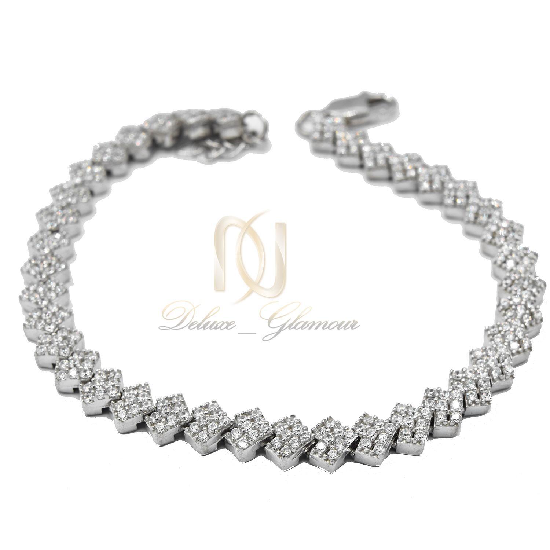 دستبند نقره زنانه پرنس ds-n016 - عکس اصلی