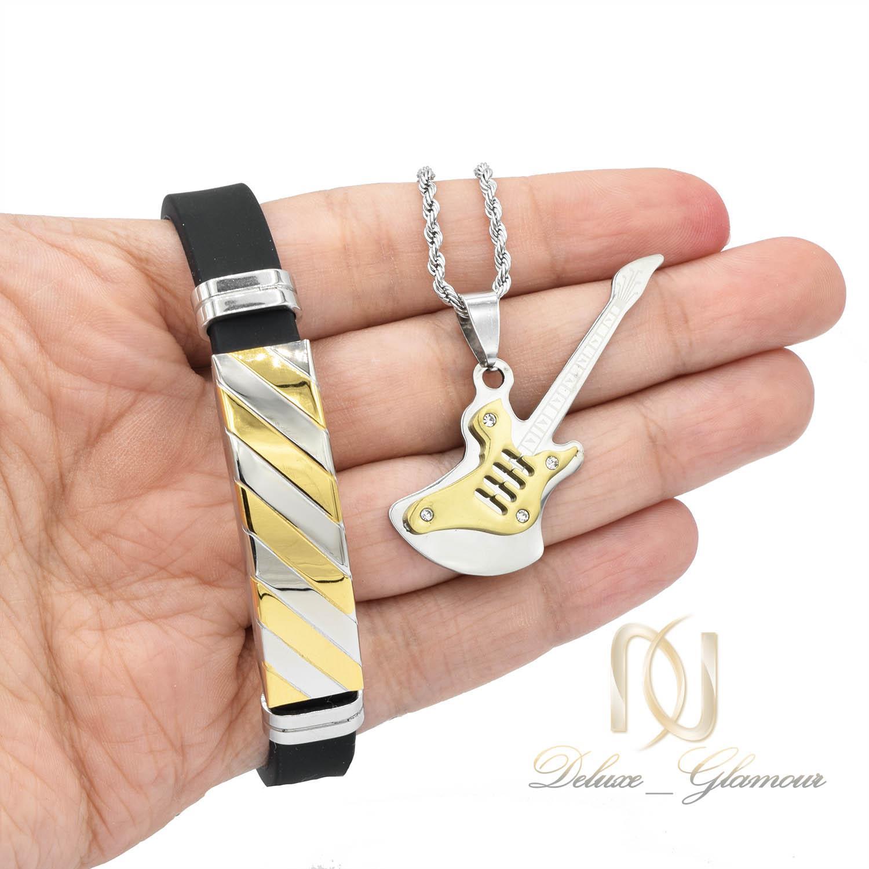 ست دستبند و گردنبند اسپرت جدید ns-n454