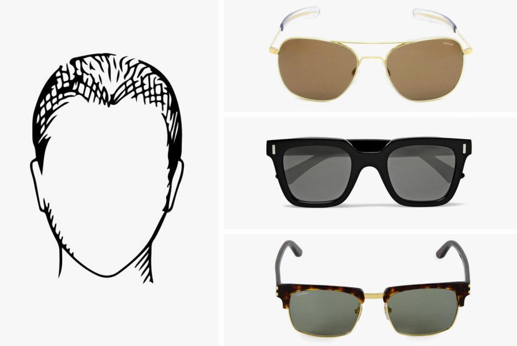 عینک مناسب صورت قلبی