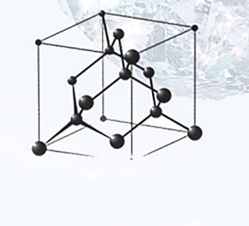 ساختار مربوط به کریستال الماس