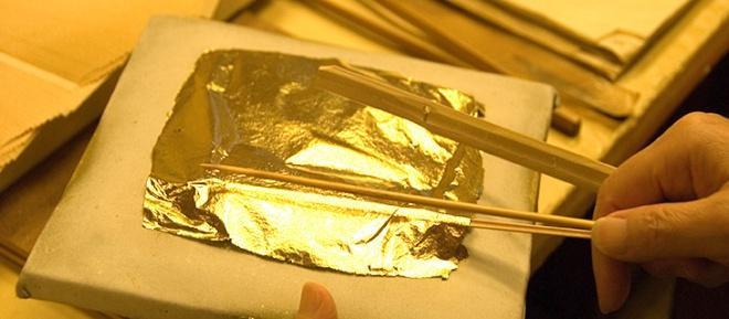 ورقه طلا