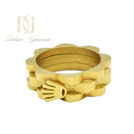 انگشتر زنانه طرح رولکس rg-n426 از نمای سفید