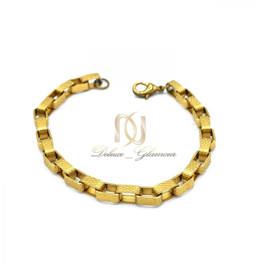 دستبند آجری دخترانه طلایی ds-n35 عکس اصلی