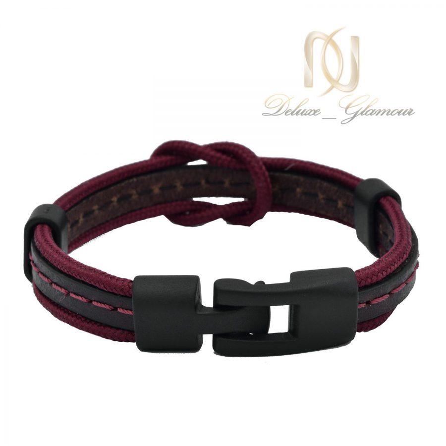 دستبند دخترانه چرم طرح جدید اسپرت ds-n479