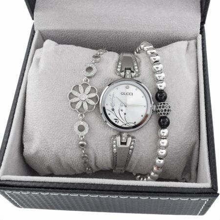 ست ساعت و دستبند زنانه SE-N302