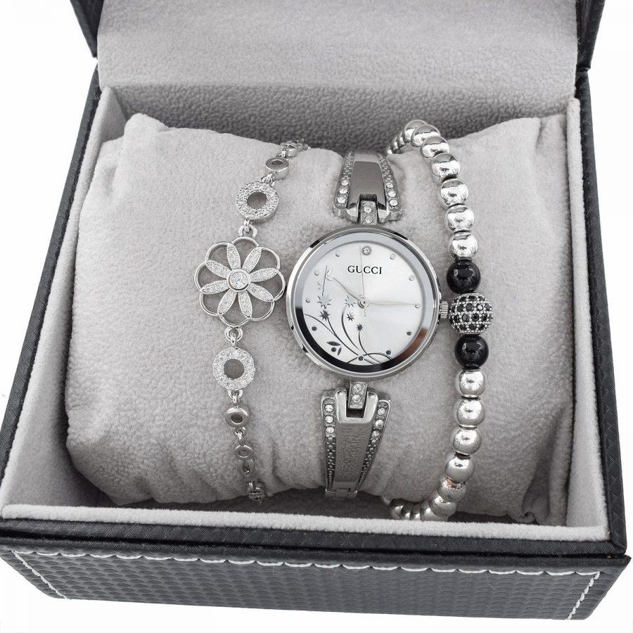 ست ساعت و دستبند زنانه SE-N302 از نمای بالا