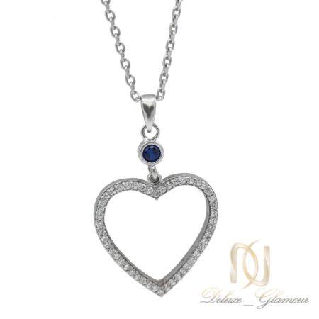 گردنبند دخترانه طرح قلب NW-N552
